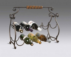 Butler Specialty Wine Rack 10 Bottle Storage Metalworks - click to enlarge