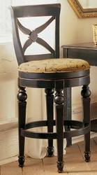 Hillsdale 32 Inch Normandy bar Stool with Black and Honey Finish - click to enlarge