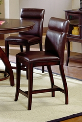 Hillsdale Nottingham Non Swivel Curved Counter Stool - Set of 2 - click to enlarge