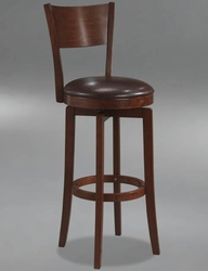 Hillsdale Archer Swivel Counter Height Stool in Brown - 4166-826 - click to enlarge