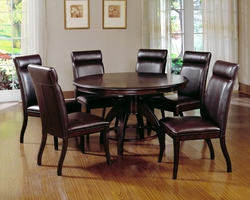 Dark Walnut Hillsdale Nottingham 7 Pc. Dining Set - click to enlarge