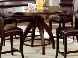 Counter Height Hillsdale Nottingham Round Pedestal Table - click to enlarge