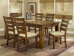 Hillsdale Hemstead Dining Table - 5 Piece Set - click to enlarge