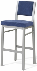 Amisco Industries Upholstered Payton Bar Stool - click to enlarge