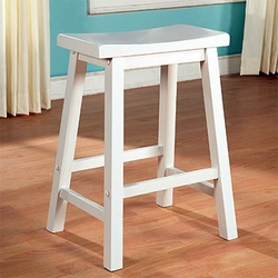 Powell Color Story Pure White Counter Stool - click to enlarge