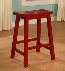 Powell Color Story Crimson Red Counter Stool - click to enlarge