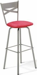 Tommy Amisco Industries Metal Swivel Stool 40460 - click to enlarge