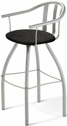 Mae Metal Amisco Industries Swivel Stool 40490 - click to enlarge