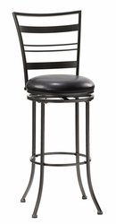 Hillsdale Holland Champagne Finish Swivel Counter Stool - click to enlarge