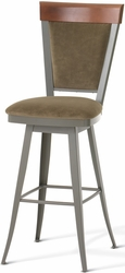 Eleanor Amisco Industries Swivel Stool with Memory Return - click to enlarge