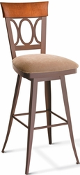 Cindy Amisco Industries Swivel Stool with Memory Return - click to enlarge
