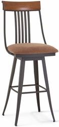 Kevin Amisco Industries Swivel Stool with Memory Return - click to enlarge