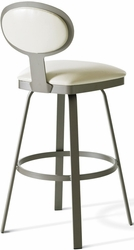 Maxim Contemporary Amisco Industries Swivel Stool Metal Frame - click to enlarge