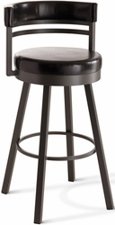 Ronny Amisco Industries Metal Swivel Stool Custom Made - click to enlarge