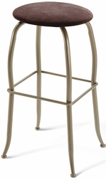 Amisco Industries Ginny Swivel Stool with Backless Design - click to enlarge