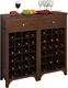Regalia 24 Bottle Wine Cabinet by Winsome - click to enlarge