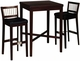 Cherry Homestyles Solid Wood Pub Table Set - click to enlarge