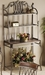Hillsdale Montello Bakers Rack in Wrought Iron