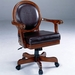 Warrington Hillsdale Game Chair with Vinyl Seat & Casters - 6124-801