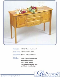 Bellecraft Large Huntboard in Cherry - click to enlarge