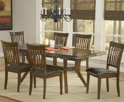 Hillsdale Arbor Hill Chestnut 7-Piece Dining Set - 4232DTBC7 - click to enlarge