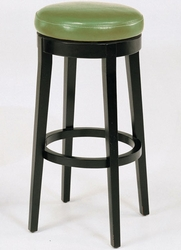 Armen Living Backless Barstool in Wasabi and Espresso - click to enlarge