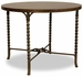 Riverside Medley Gathering Height Table with Metal Legs