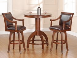 Hillsdale Palm Springs Bar Height Table & Swivel Stools - Set of 3 - click to enlarge
