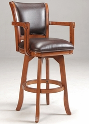 Hillsdale Park View Oak Swivel Bar Stool - 4186-830 - click to enlarge