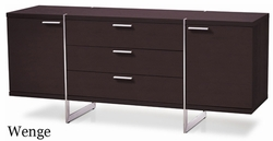 Modloft Greenwich Dining Sideboard Buffet with Steel Legs - MD707 - click to enlarge
