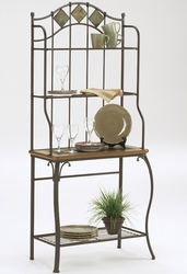 Hillsdale Lakeview Baker's Rack with 4 Shelves - 4264-850 - click to enlarge