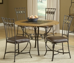 Hillsdale Lakeview Dining Set with Round Table - click to enlarge