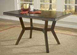 Hillsdale Arbor Hill Colonial Chestnut Extension Dining Table - 4232-814 - click to enlarge