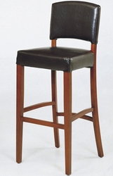 Armen Living Sonora Leather Barstool - click to enlarge