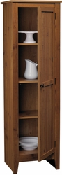 Ameriwood Old Fashioned Single Door Pantry in Pine - click to enlarge