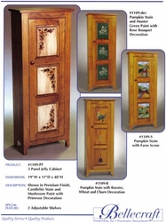 Bellecraft Jelly Cabinet with Raised Panel - click to enlarge