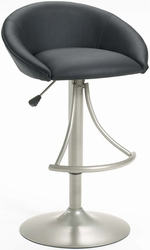 Hillsdale Oxford Adjustable Stool with Black Vinyl Upholstery - 4274-832 - click to enlarge