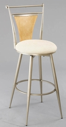 Hillsdale London Swivel Counter Stool with Fabric Seat - 4183-826 - click to enlarge