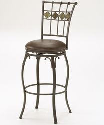Hillsdale Lakeview Swivel Counter Stool in Grey Stone - 4264-826 - click to enlarge