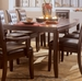 American Drew Tribecca Root Beer Dining Table with Butterfly Leaf
