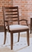 American Drew Tribecca Arm Chair with Root Beer Finish - Set of 2