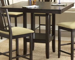 Hillsdale Arcadia Counter Height Table in Espresso - click to enlarge