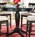 American Drew Camden Black Round Counter Height Table