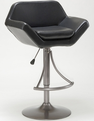Hillsdale Valencia Oyster Grey Adjustable Barstool - 4291-830 - click to enlarge