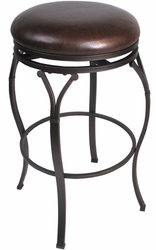 Hillsdale Lakeview Backless Swivel Barstool - 4264-832 - click to enlarge