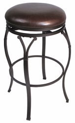 Hillsdale Lakeview Backless Brown Counter Stool - 4264-828 - click to enlarge