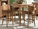 American Drew Antigua Toasted Almond 5pc Pub Table Set