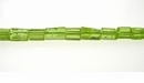 Peridot Cut Tube Shape