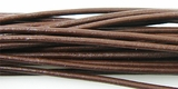Brown Greek Leather Cord , 5-meter Coil