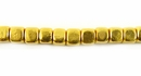 Dice Brass Beads 5mm